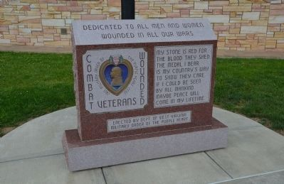 Combat Wounded Veterans Memorial image. Click for full size.
