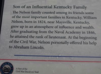 Son of an Influential Kentucky Family image. Click for full size.