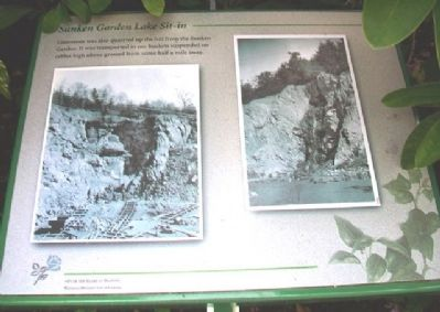 Sunken Garden Lake Sit-in Marker image. Click for full size.