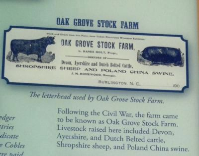 Oak Grove Stock Farm image. Click for full size.