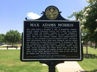 Max Adams Morris Marker image. Click for full size.