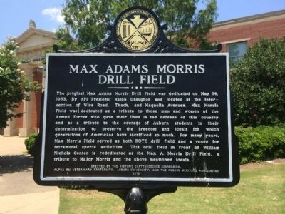 Max Adams Morris Drill Field Marker image. Click for full size.