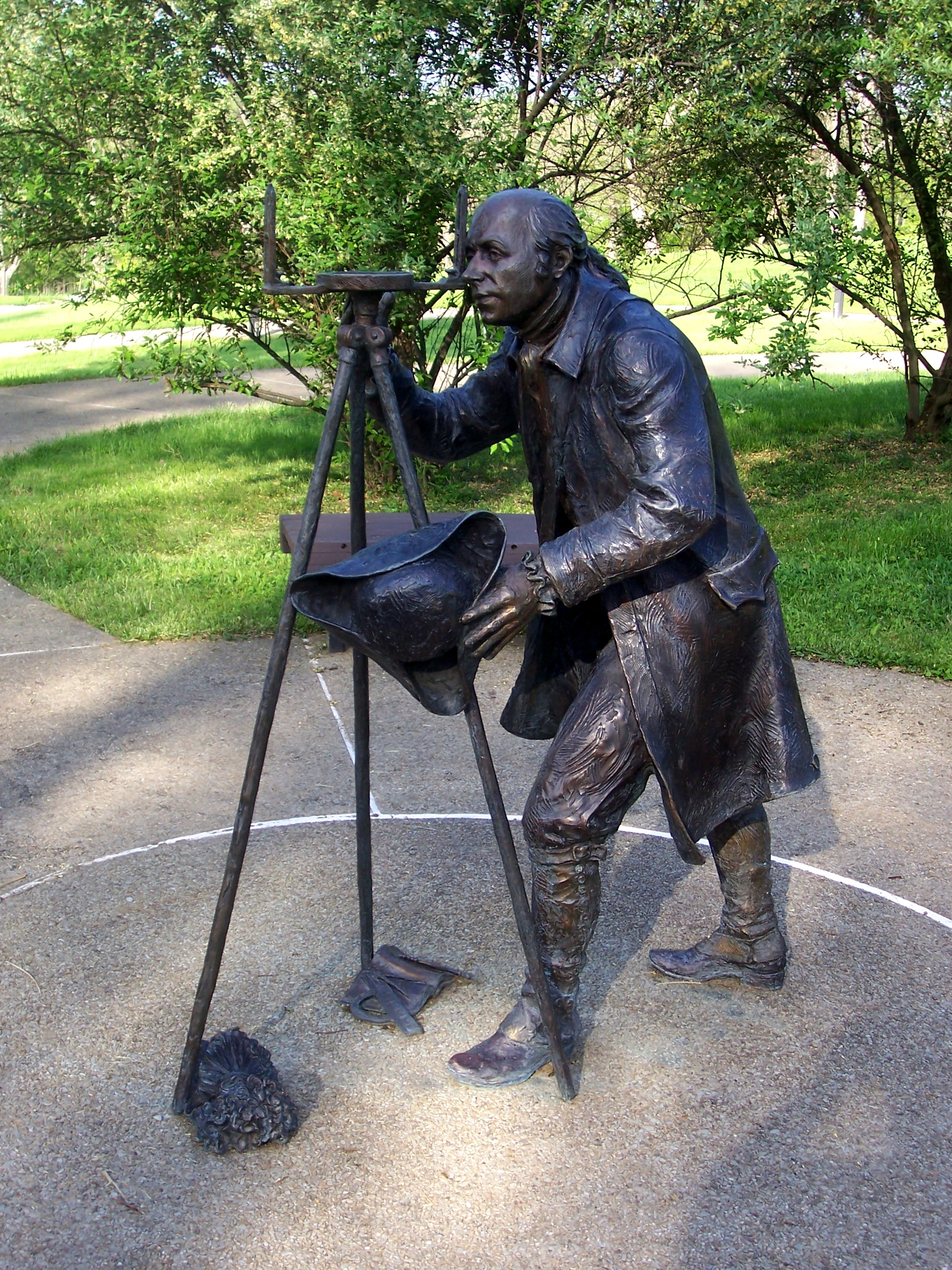 Albert Gallatin sculpture