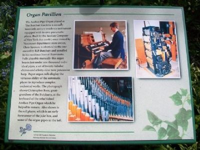 Organ Pavillion Marker image. Click for full size.