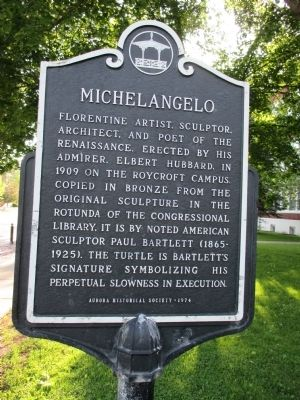 Michelangelo Marker image. Click for full size.