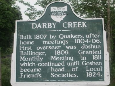 Darby Creek Marker image. Click for full size.