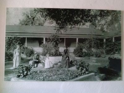 Historic Photo of Ranch House, circa 1892 image. Click for full size.