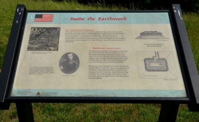 Inside the Earthwork Wayside Exhibit image. Click for full size.