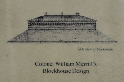 Colonel William Merrill's Blockhouse Design image. Click for full size.