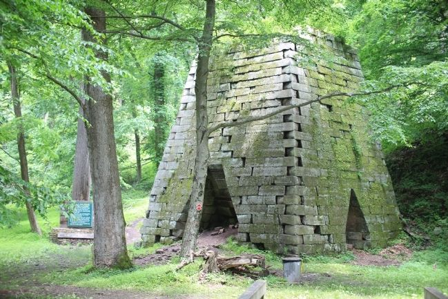 Henry Clay Iron Furnace image. Click for full size.