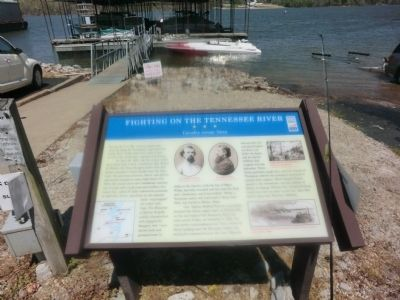Fighting on the Tennessee River Marker image. Click for full size.