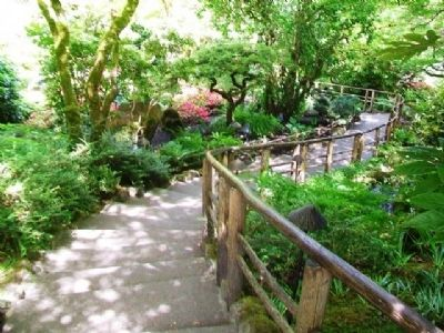 Japanese Garden Stairs image. Click for full size.