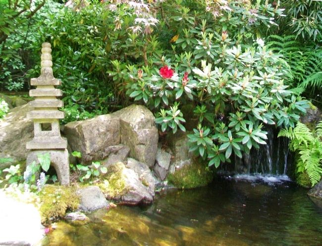 The Butchart Gardens' Japanese Garden image. Click for full size.