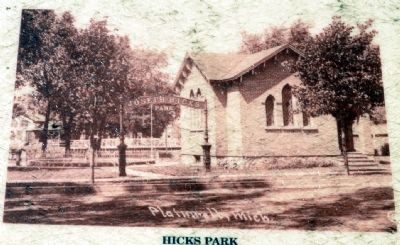 Hicks Park Yesteryear image. Click for full size.