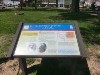 McKenzie's Station Marker image. Click for full size.