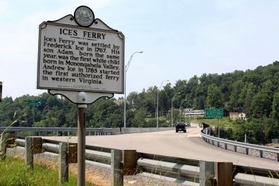 Ice's Ferry Marker image. Click for full size.