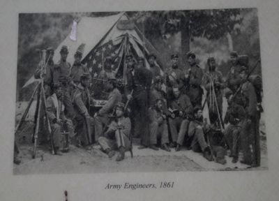 Army Engineers, 1861 image. Click for full size.