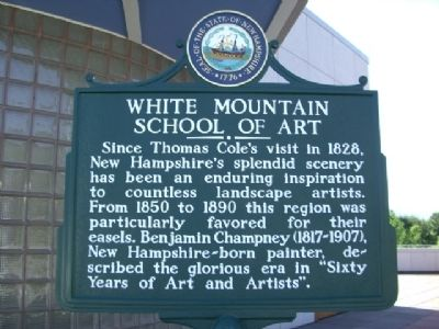 White Mountain School of Art Marker image. Click for full size.