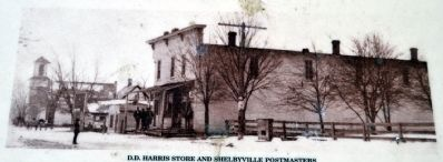 D.D. Harris Store Yesteryear image. Click for full size.