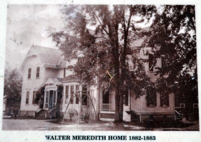 Walter Meredith Home 1882-1883 image. Click for full size.