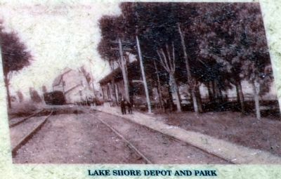 Lake Shore Depot and Park image. Click for full size.