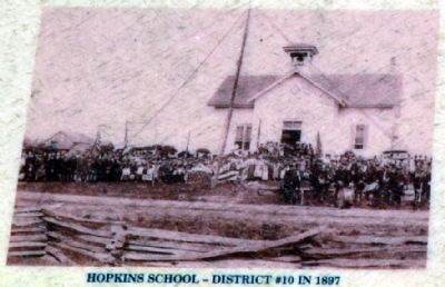 Hopkins School - District #10 in 1897 image. Click for full size.
