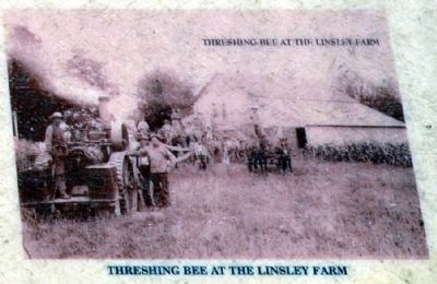 Threshing Bee at the Linsley Farm image. Click for full size.