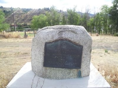 Old Mission Indian Cemetery Marker image, Touch for more information
