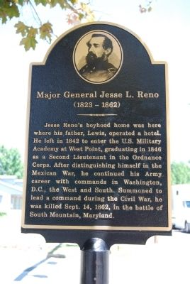 Major General Jesse L. Reno Marker image. Click for full size.
