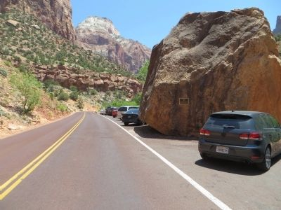 Zion Mt. Carmel Tunnel and Highway, Utah Marker image. Click for full size.