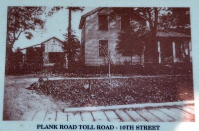 Plank Road Toll Road - 10th Street image. Click for full size.