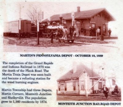 Martin Township Depots image. Click for full size.