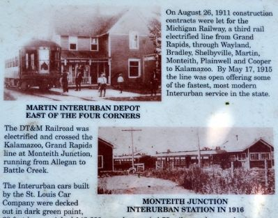 Martin Township Interurban Stations image. Click for full size.