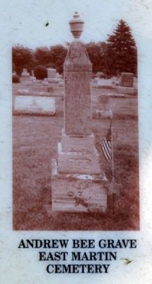 Andrew Bee Grave image. Click for full size.