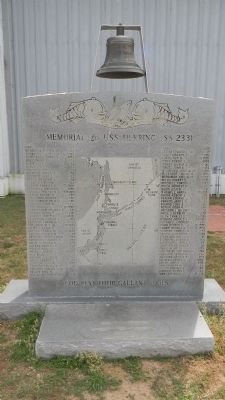 Memorial to USS <i>Herring</i> (SS-233) image. Click for full size.