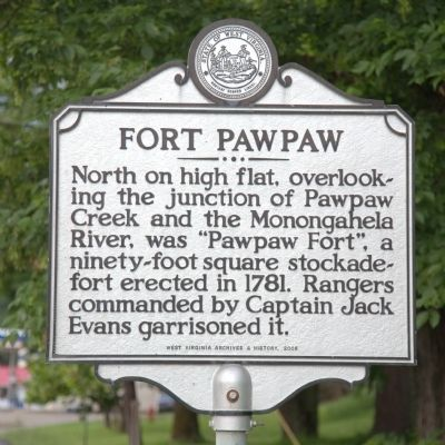 Fort Pawpaw Marker image. Click for full size.
