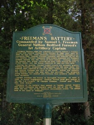 Freeman's Battery Marker image. Click for full size.