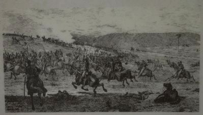 Illustration of a Confederate Raid image. Click for full size.