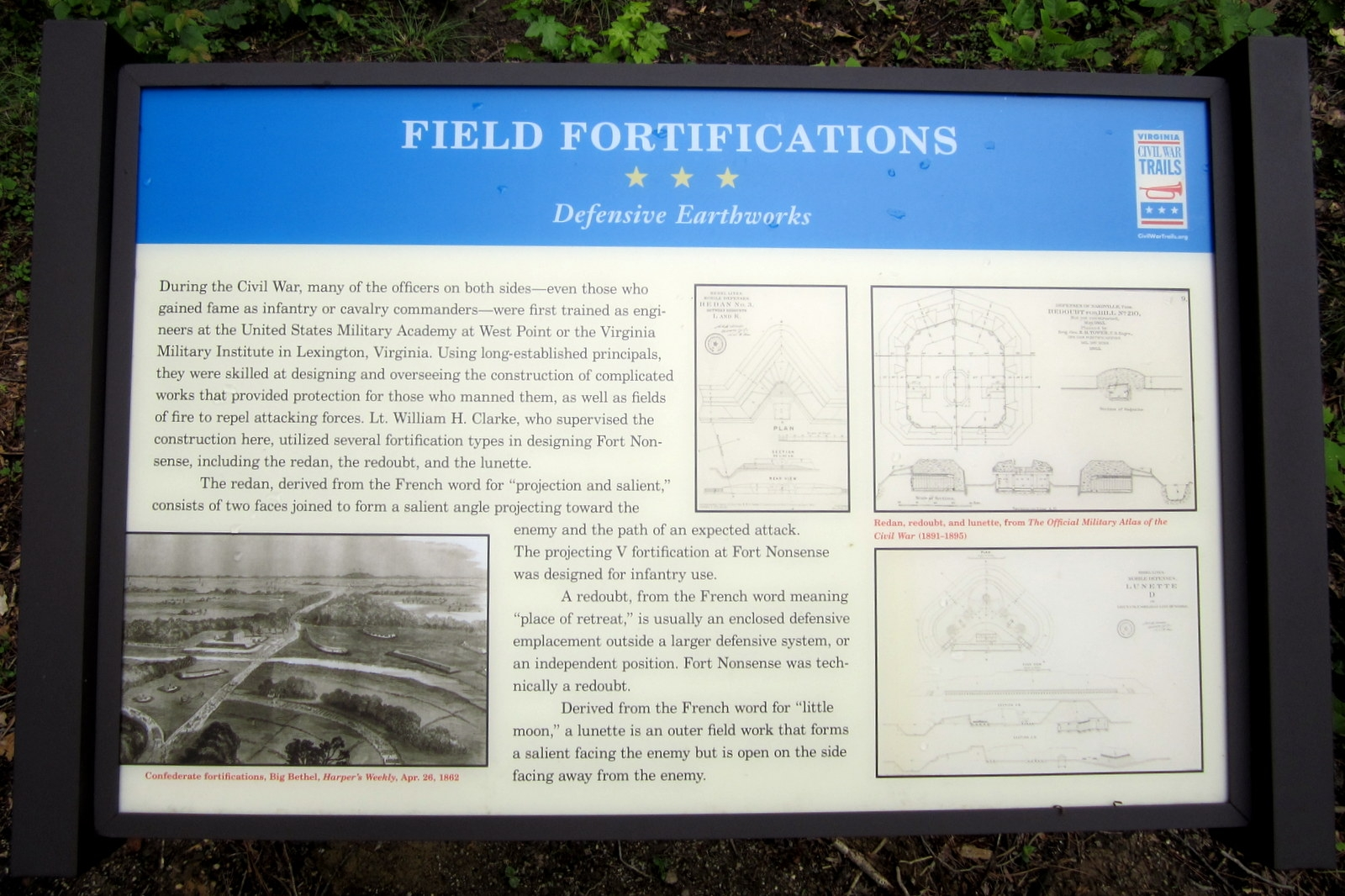 Field Fortifications CWT Marker