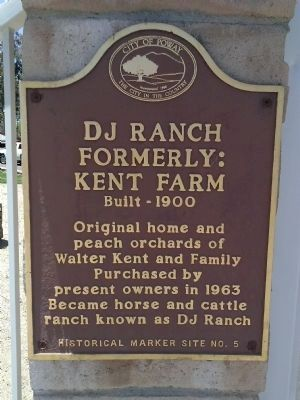 DJ Ranch Formerly: Kent Farm Marker image. Click for full size.