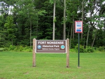 Fort Nonsense Historical Park image. Click for full size.