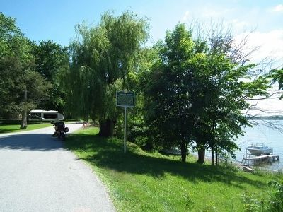 Wideview of Sweet's Ferry Marker image. Click for full size.