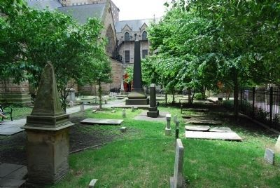 Trinity Church Burying Ground image. Click for full size.