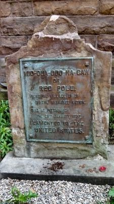 Chief Red Pole's Grave image. Click for full size.