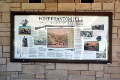 Fort Phantom Hill Marker image. Click for full size.