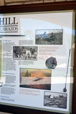 Fort Phantom Hill Marker (Right Side) image. Click for full size.