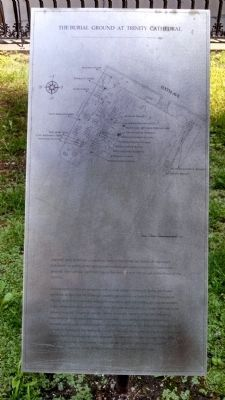 The Burying Ground at Trinity Cathedral image. Click for full size.