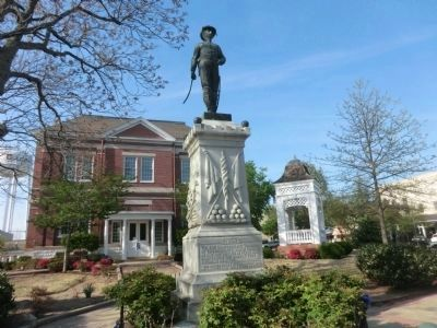 Tipton County Confederate Monument-Front image. Click for full size.