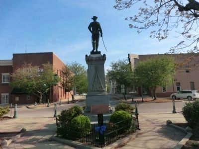 Tipton County Confederate Monument-back image. Click for full size.