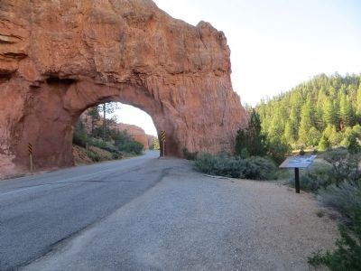 Red Canyon Tunnels image. Click for full size.